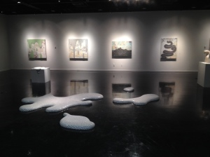 Downpoor, installation view